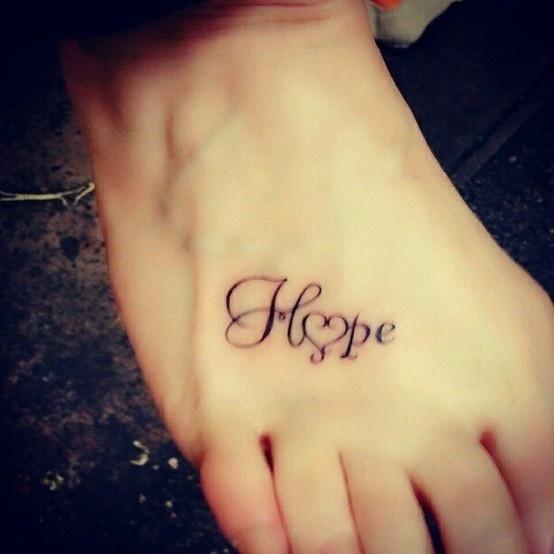 1000 Ideas About Hope Tattoos On Pinterest: Tatuajes Para Mujeres