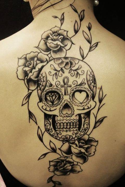 Calaveras para tatuaje - Imagui