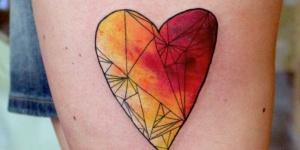 Corazón de colores