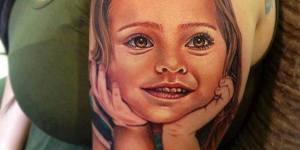 Retrato hijos