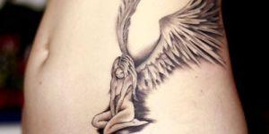 Ángel con alas