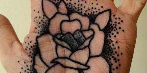 Flor y puntitos