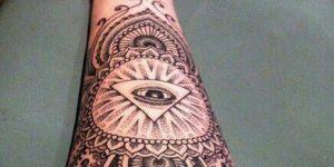 Mandala, Pirámide y Ojo que todo lo ve