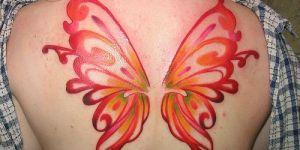 Alas de Mariposa Roja