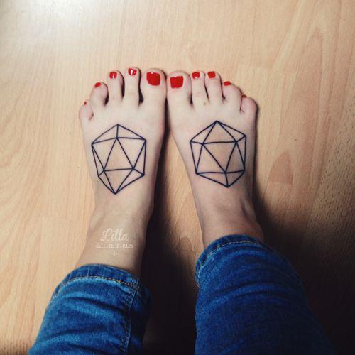 Figuras Geométricas Tatuajes Para Mujeres