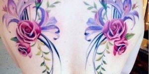 Rosas, Lilium y Campanitas