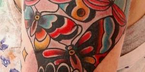 Globo Aerostático con Jaula, Mariposas y Aves
