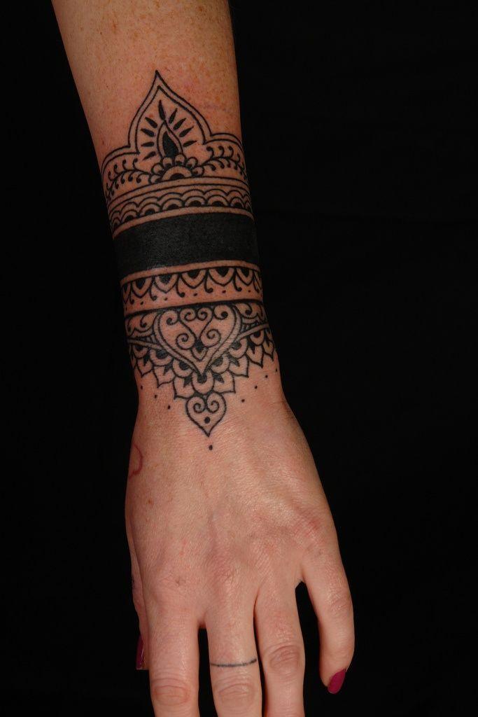 Brazalete Hindú Tatuajes Para Mujeres