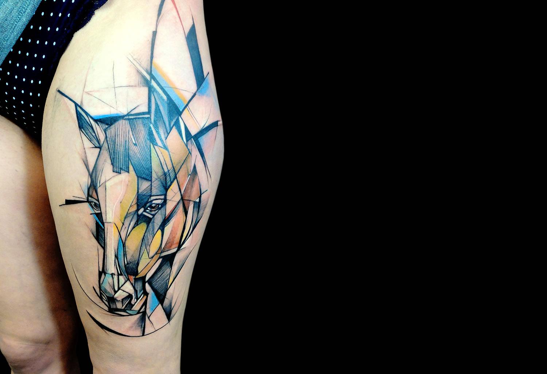 Caballo Tatuajes Para Mujeres