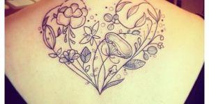 Corazón de Plantas