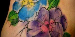 Flor Azul & Flor Violeta