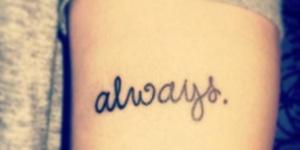 Frase: Always