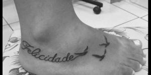 Frase: Felicidade & Aves