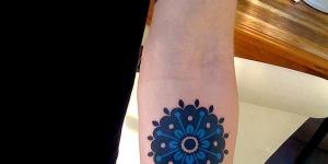 Mandala Azul Marino