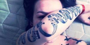 Pentagrama con Notas Musicales