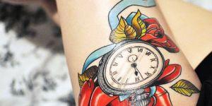 Reloj & Flor