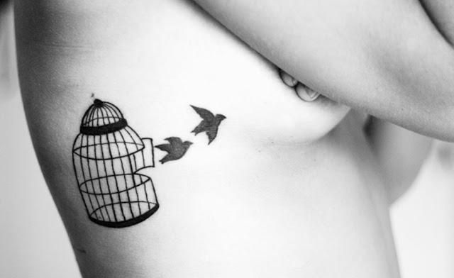 tatuajes para mujeres jaulas