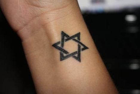 Estrella de David Tatuajes para Mujeres
