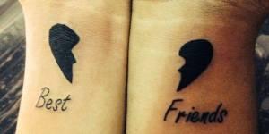 Frase: Best Friends & Corazón