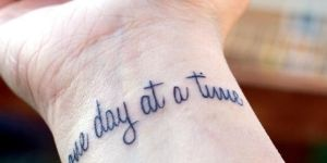 Frase: One day at a time