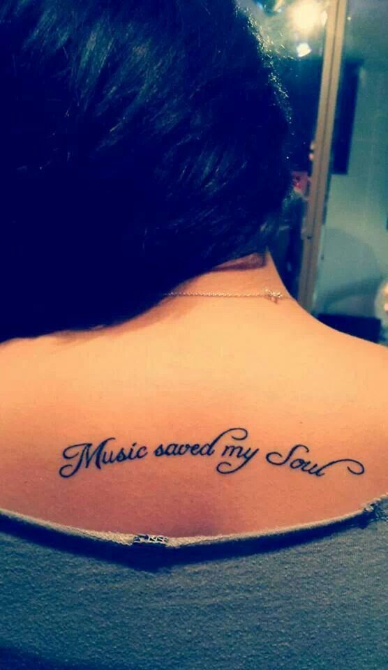 Frase: Music saved my soul