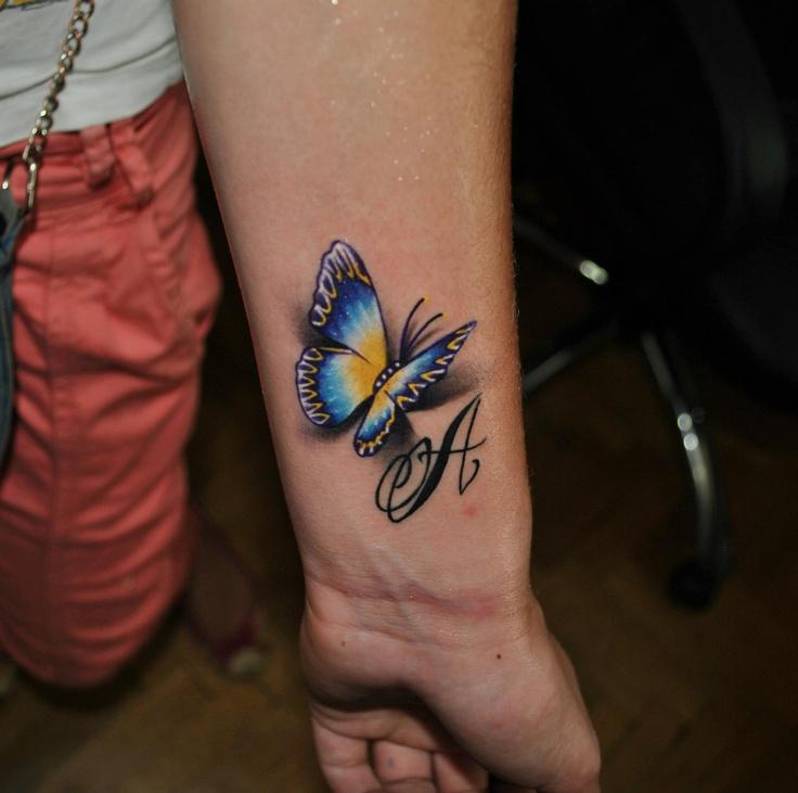 43 Tattoo Mariposas En 3 D 3 Mariposas En D Tattoo - Mariposas-tatuaje