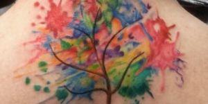Árbol de la Vida en acuarelas
