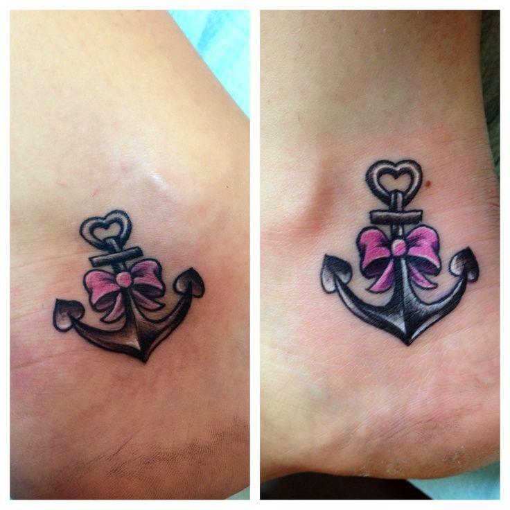Anclas Tatuajes Para Mujeres