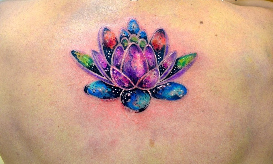 Flor De Loto By Javi Wolf Tatuajes Para Mujeres