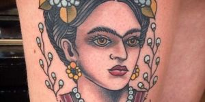 Frida Kahlo & Frase: You are magic