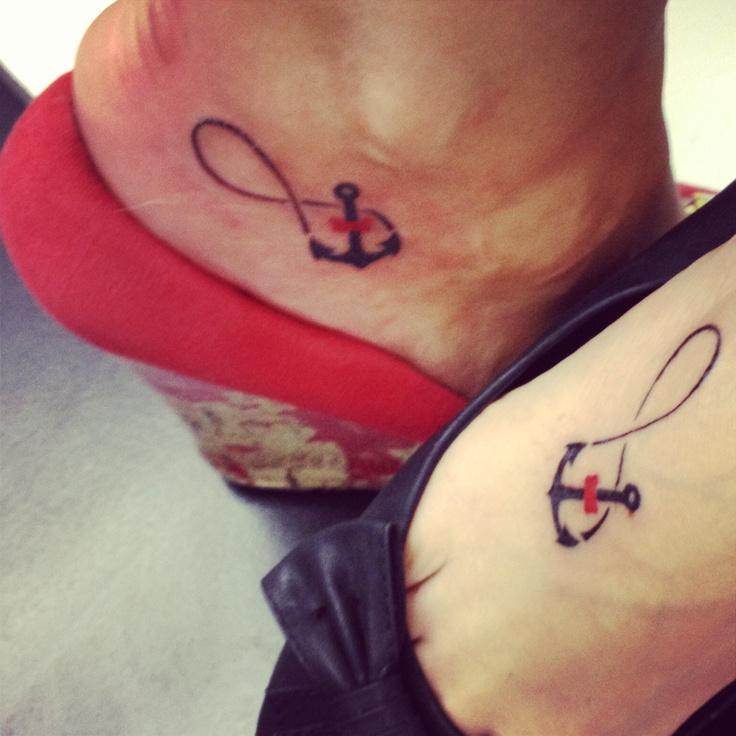 Infinito Ancla Tatuajes Para Mujeres