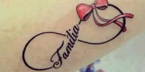 Infinito, Lazo, Frase: Familia
