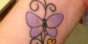 Mariposa, Firulete y Corazón