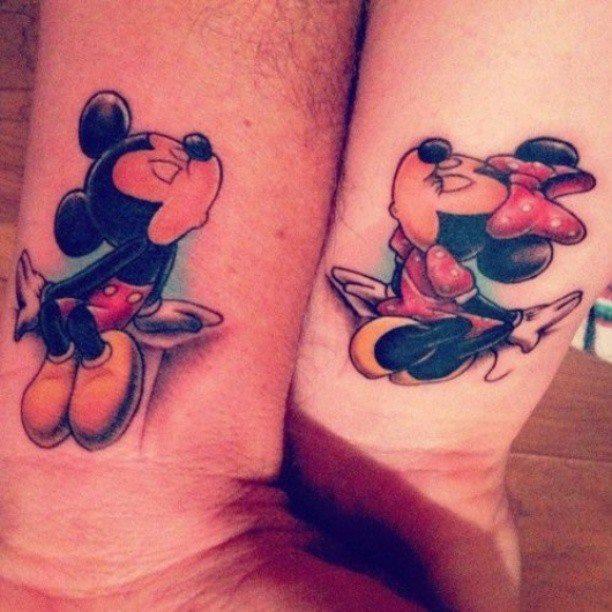 Minnie Mouse Tatuajes Para Mujeres