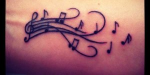 Notas Musicales sobre Pentagrama