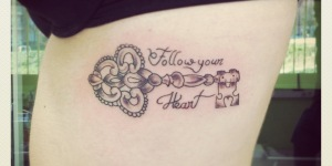 Llave y Frase: Follow your heart