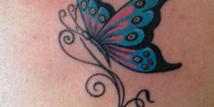 Mariposa Perfil Firuletes