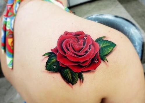 Gotas De Agua Tatuajes Para Mujeres