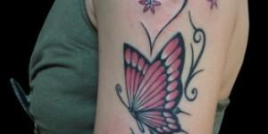 Mariposa, Flores y Firuletes