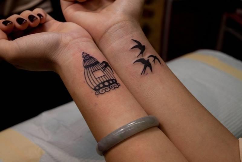 Aves Volando De Su Jaula Tatuajes Para Mujeres