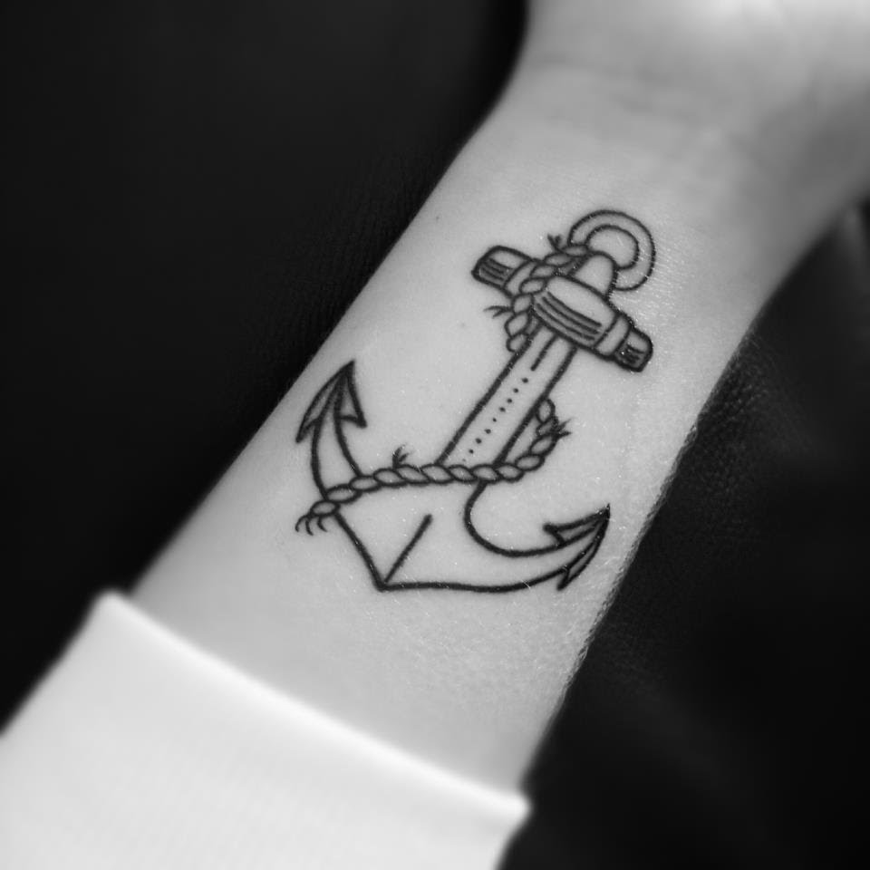Anclas De Tatuajes Para Mujer tatuajes de un ancla - sollefe tattoo