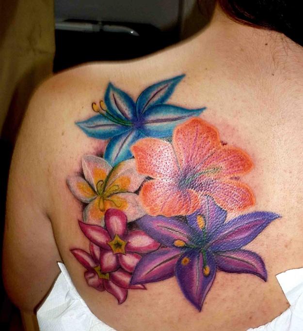 Fotos Tatuajes Flores Para Mujeres flores - tatuajes para mujeres