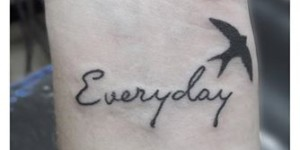 Frase: Everyday & Ave by Facu Ontivero