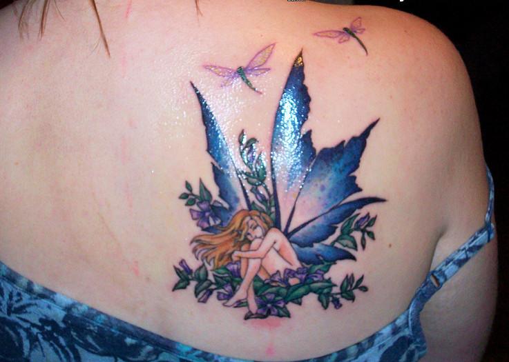 Hada Lib 233 Lulas Y Flores Tatuajes Para Mujeres