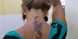 Mariposa, Firuletes y Flores