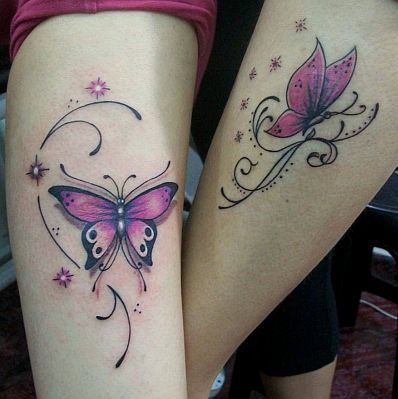 destellos mariposas estrellas tatuajes de mariposas tattoos tattoo car interior design. Black Bedroom Furniture Sets. Home Design Ideas