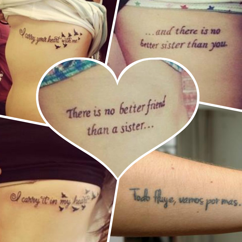 30 frases de amistad para tatuajes tatuajes para mujeres for Frases para tatuarse dos amigas