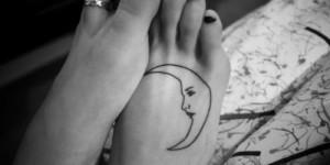 Media Luna en el Pie