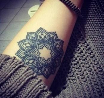 Mandala En El Antebrazo Tatuajes Para Mujeres