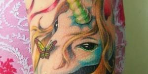 Unicornio & Mariposa